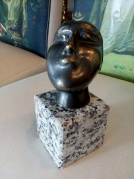Skulptura glava žene  Ljubodrag Jankovic Jale