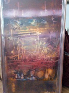 Dusan Mikonjic ulje na platnu 75 ×137